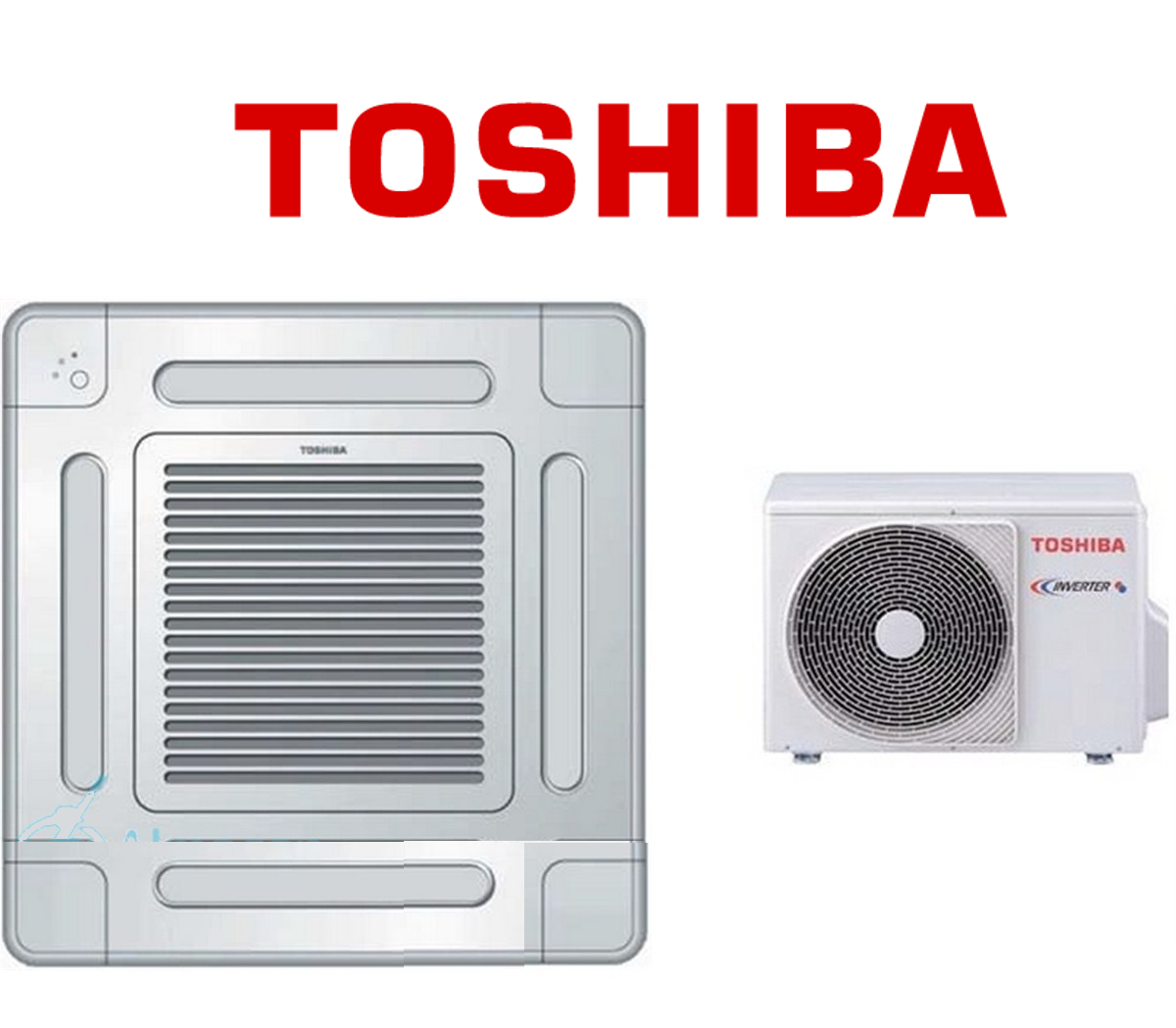 Aire Acondicionado Cassette Toshiba