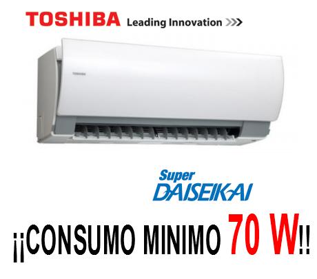 Aire Acondicionado Toshiba Super Daiseikai