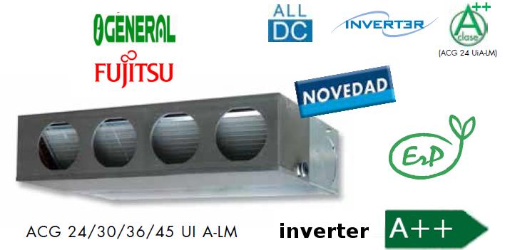 Aire Acondicionado Conductos General Fujitsu