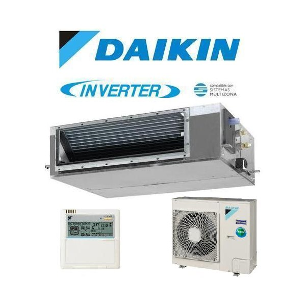 Aire acondicionado daikin conductos stock aire for Maquina aire acondicionado por conductos
