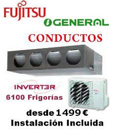 Aire acondicionado general fujitsu conductos stock aire for Aire acondicionado general fujitsu
